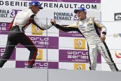 Podium: second place Nigel Melker, third place Kevin Magnussen