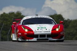 #23 Team West Ferrari F458 Italia: Bill Sweedler, Townsend Bell