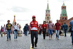Камуи Кобаяши. Moscow City Racing, Суббота.