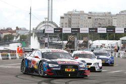 Ralf Schumacher, Andy Priaulx et Mike Rockenfeller