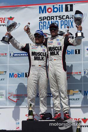 Overall e class vencedor - #6 Muscle Milk Pickett Racing HPD ARX-03c: Klaus Graf, Lucas Luhr