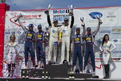 GT class podium