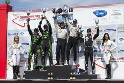P2 class podium