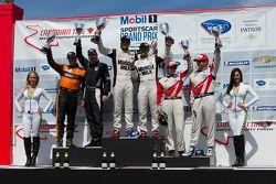 P1 class podium
