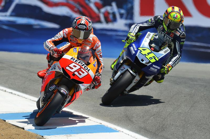 2013 - Duel met Rossi in Laguna Seca