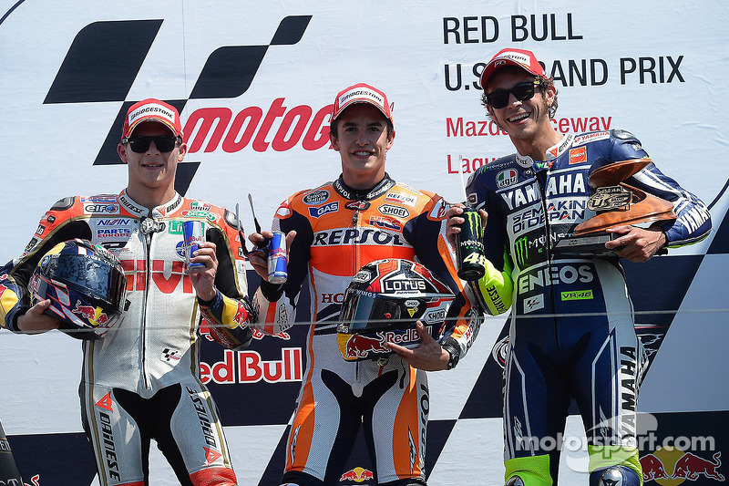 #3 Podium : Marc Márquez, Stefan Bradl, Valentino Rossi