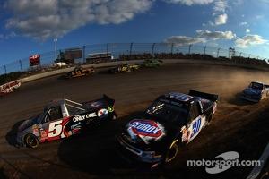 Jason Bowles and Kyle Larson