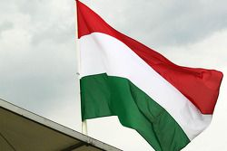 La bandiera ungherese