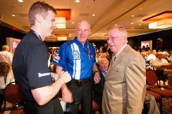Chris Dyson, Rob Dyson and Dr. Don Panoz