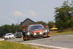 #13 Belgian Audi Club Team WRT Audi R8 LMS Ultra: Frank Stippler, Marcel Fässler, Mattias Ekström
