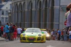 #150 Manthey Racing, Porsche 997 GT3R: Marc Lieb, Richard Lietz, Patrick Pilet