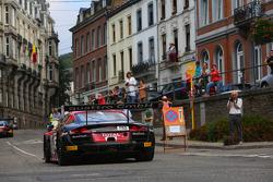 #2 Belgian Audi Club Team WRT: Frank Stippler, Christopher Mies, Andre Lotterer
