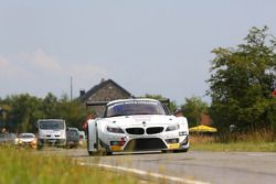 #188 DKR Engineering BMW Z4: Dimitri Enjalbert, Bernard Delhez, Stefano Gattuso