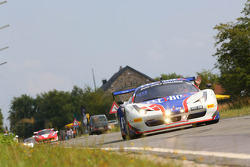 #17 Insight Racing with Flex Box, Ferrari 458 Italia: Ian Dockerill, Dennis Andersen, Martin Jensen