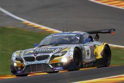 #14 Marc VDS Racing Team BMW Z4: Andrea Piccini, Dirk Müller, Jens Klingmann