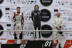 The podium, from left to right: Gary Hauser, 2nd; Ingo Gerstl, 1st; Peter Milavec, 3rd