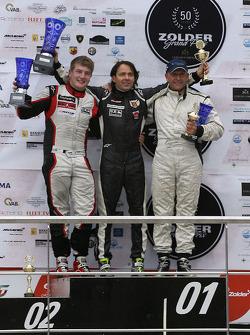 Gary Hauser, 2e; Ingo Gerstl, 1er; Peter Milavec, 3e