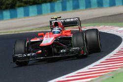 Rodolfo González, Marussia F1 Team MR02 Piloto de reserva