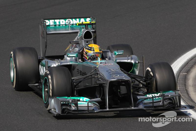 2013: Lewis Hamilton, Mercedes F1 W04