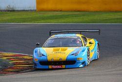 #123 Team Ukraine, Ferrari 458 Italia: Ruslan Tsyplakov, Andrii Kruglik, Raffaele Gianmaria, Matteo Malucelli
