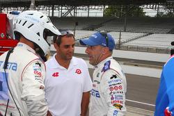 Juan Pablo Montoya e Tony Kanaan