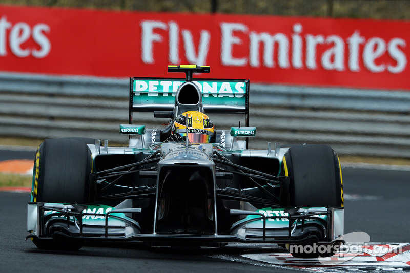 Гран Прі Угорщини 2013, Mercedes F1 W04