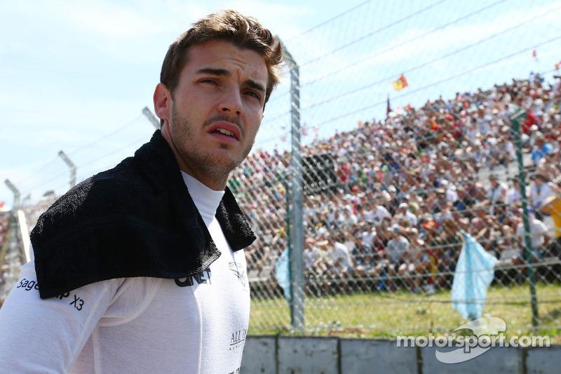 Fin de la temporada 2013, su primera en F1