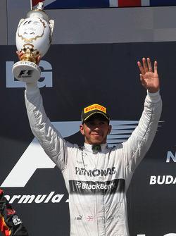 1st place Lewis Hamilton, Mercedes AMG F1 W04