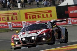 #16 Phoenix Racing, Audi R8 LMS ultra: Enzo Ide, Anthony Kumpen, Markus Winkelhock