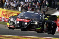 #0 Belgian Audi Club Team WRT, Audi R8 LMS ultra: Rahel Frey, Matt Halliday, Niki Mayr-Melnhof