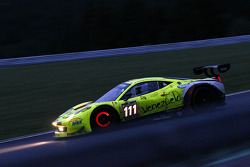 #111 Kessel Racing, Ferrari 458 Italia: Pablo Paladino, Paolo Andreasi, Gaetano Ardagna Perez, Giuseppe Ciro
