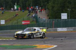 #18 Black Falcon, Mercedes-Benz SLS AMG GT3: Klaas Hummel, Steve Jans, Adam Christodoulou, Thomas Jä