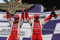 Racewinnaars Bryan Sellers, Mark Boden