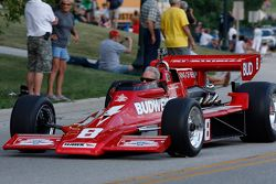 Desfile em Elkhart Lake. #8 1978 Lightning Indy: David Roberts