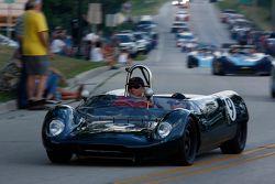 De racewagens paraderen door Elkhart Lake:#9 191962 Lotus 23B: Rick Balsley