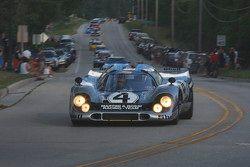 De racewagens paraderen door Elkhart Lake:#4 1970 Porsche 917K: Gregory Galdi