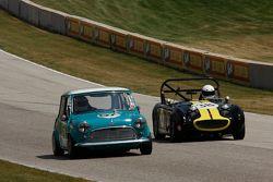 #57 1966 Austin Cooper S: Sara Khan #38 1959 Austin Healy Sprite Mk I: Grant Gongoll