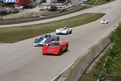 #136 1968 McLaren M6B: Ken Petrie #25 1967 McKee Mk7/10: Norm Cowdry