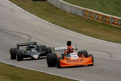 #9 1976 March 761: James King #15 1978 Lotus 79: Duncan Dayton