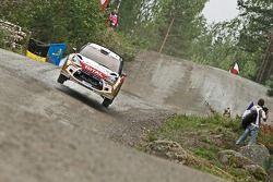 Крис Мик и Крис Паттерсон. Ралли Финляндия, тестовый СУ.