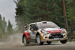 Kris Meeke e Chris Patterson, Citroën DS3 WRC, Citroën Total Abu Dhabi World Rally Team