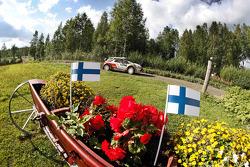 Mikko Hirvonen e Jarmo Lehtinen, Citroën DS3 WRC, Citroën Total Abu Dhabi World Rali Team