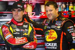 Jeff Gordon y Tony Stewart