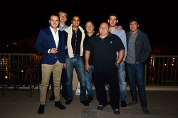 Mehdi Bennani, BMW E90 320 TC, Proteam Racing and his team