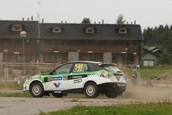 Fabrizio Gini and Lunardi Gabriele, Subaru Impreza