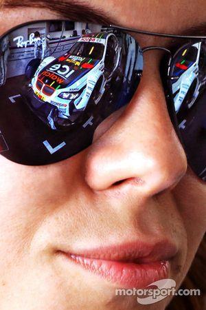 Reflection de Marco Wittmann, BMW Team MTEK BMW M3 DTM