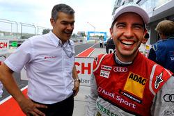 Dieter Gass, Mike Rockenfeller, Audi Sport Team Phoenix Racing Audi A5 DTM