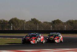 Marc Basseng, SEAT Leon WTCC, ALL-INKL.COM Munnich Motorsport e Robert Huff, SEAT Leon WTCC