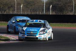 James Nash, Chevrolet Cruze 1.6 T, Bamboo Engineering e Jordi Oriola, SEAT Leon Copa, Tuenti Racing