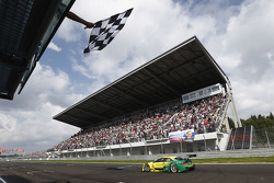 Mike Rockenfeller, Audi Sport Team Phoenix Racing Audi A5 DTM takes the win